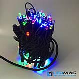 Светодиодная гирлянда Нить RGB 10м 100LED Каучук, фото 3