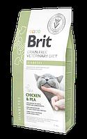 Сухой корм Brit GF VetDiets Cat Diabets 46/13 (для кошек при сахарном диабете), 0.4 кг