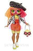 Ігровий набір з лялькою L. O. L. SURPRISE! серії O. M. G. - Леді-Неон з аксесуарами (560579)
