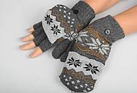 Шерстяные перчатки, перчатки из ангорки,, фото 1