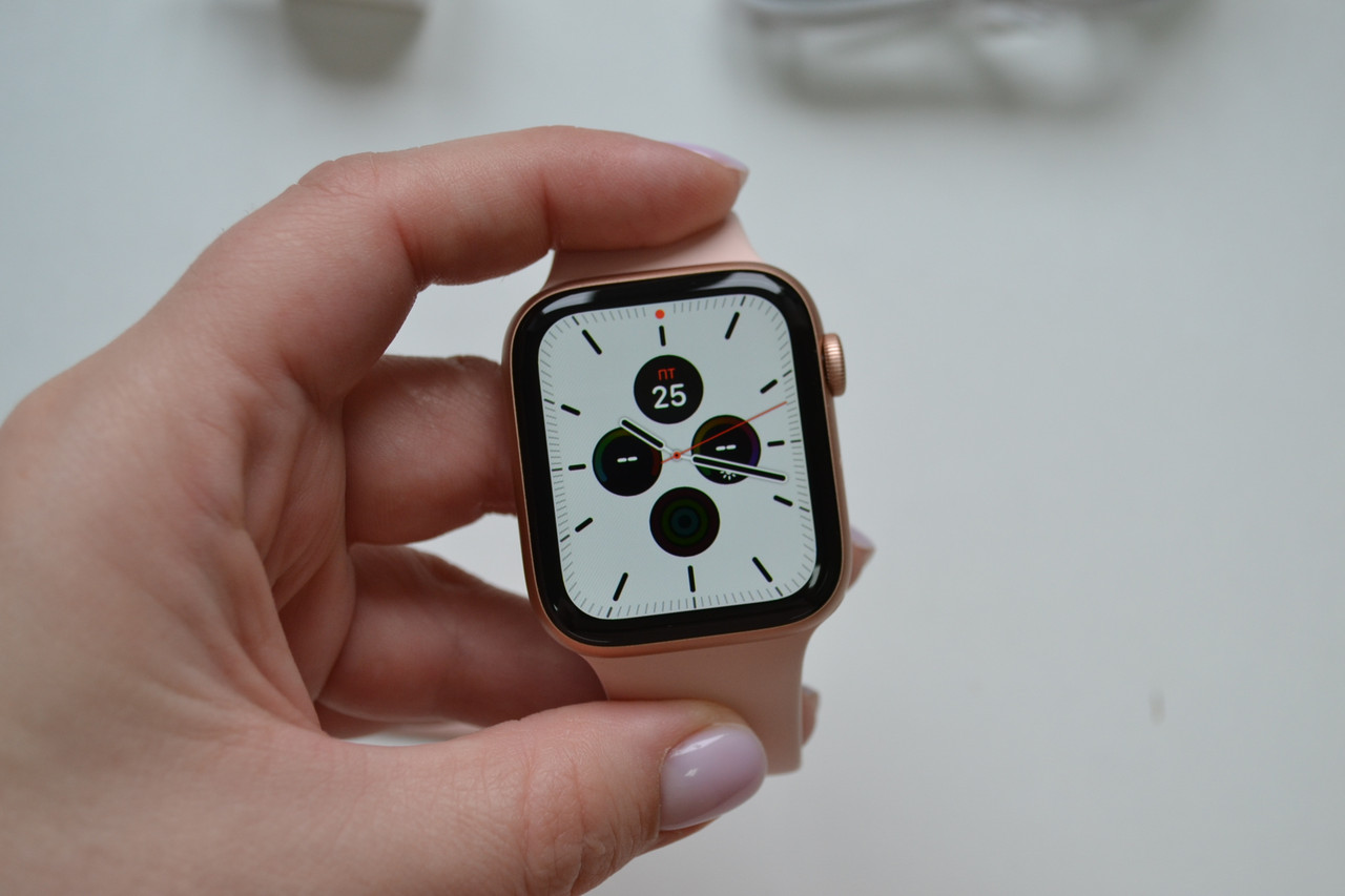 Смарт-часы Apple Watch Series 4 44mm A1978 Gold Aluminium (GPS) Оригинал!
