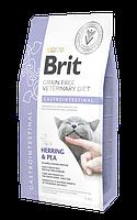 Сухой корм Brit GF VetDiets Cat Gastroint 34/17 (для кошек при остром и хроническом гастроэнтерите), 0.4 кг