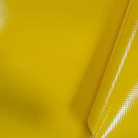 Тентовая ткань желтая 630г/м2