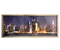 """Пленочный настенный обогреватель картина, VIP """"Нью-Йорк"""", инфракрасный обогреватель Трио 00204, фото 1"""
