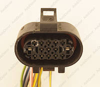 Разъем электрический 15-и контактный (39-30) б/у 357973215