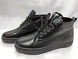 Стильные зимние ботинки под кеды на молнии Rondo, фото 3