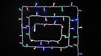 Гирлянда STRING НИТЬ 5 Вт мультицвет или белый, синий, зеленый, красный, провод черный или белый  2x5м IP44