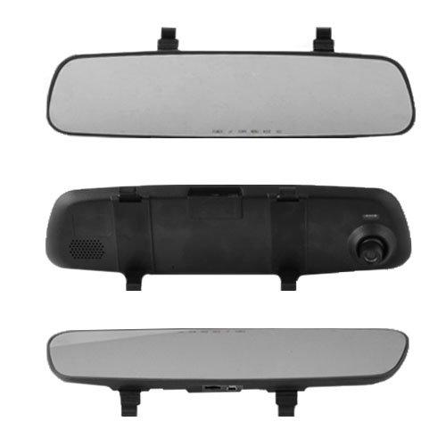 Автомобильный видеорегистратор-зеркало AKLINE DV-400 2.4 HD Черный