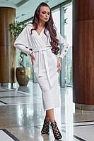 Белое платье 1261.3871 ТМ Seventeen 42-48 размеры