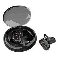 Бездротові навушники SUNROZ V5 TWS Bluetooth 5.0 Чорний, фото 1