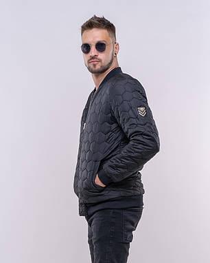 Стильная мужская куртка-бомбер, фото 2