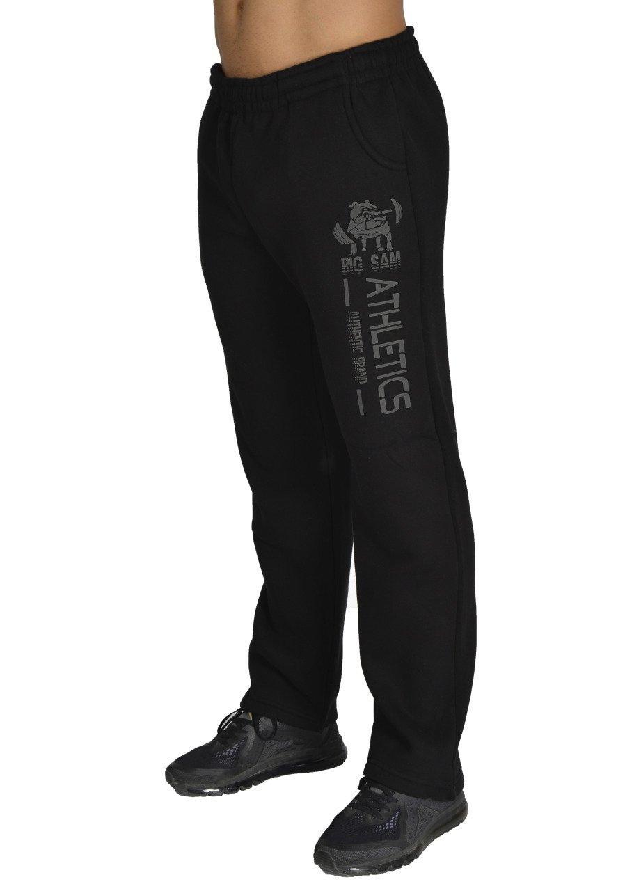 Штаны для культуристов теплые BigSam 1140  размер S
