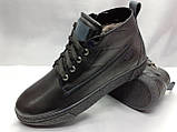 Стильные зимние ботинки под кеды на молнии Rondo, фото 2