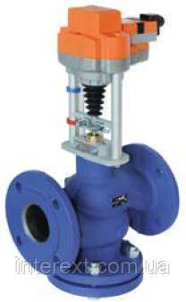 Клапан регулирующий седельный с электроприводом BELIMO для воды DN50