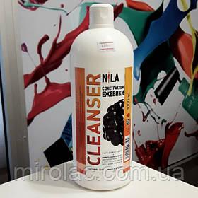 Nila Cleanser для снятия липкого слоя, ежевика, 1000 мл