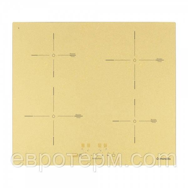 Варочна поверхня електрична індукційна Minola MI 6044 GOLD