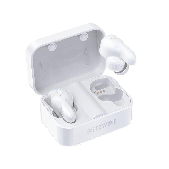 Беспроводные наушники BlitzWolf BW-FYE1 Bluetooth 5.0 White