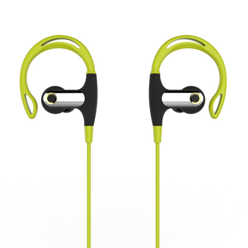 Беспроводные наушники Romix S2 Sport Wireless Headphone RWH S2 Tea Green-Black