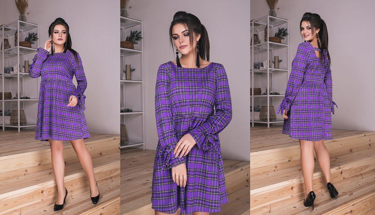 """Шикарное женское платье ткань """"Французский трикотаж"""" 44 размер норма"""
