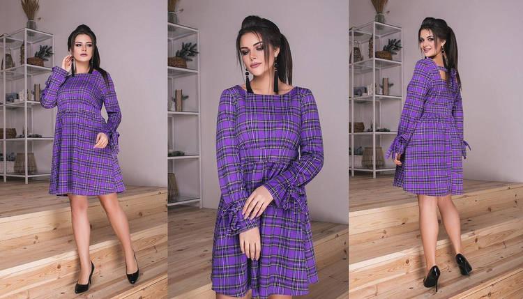 """Шикарное женское платье ткань """"Французский трикотаж"""" 44 размер норма, фото 2"""