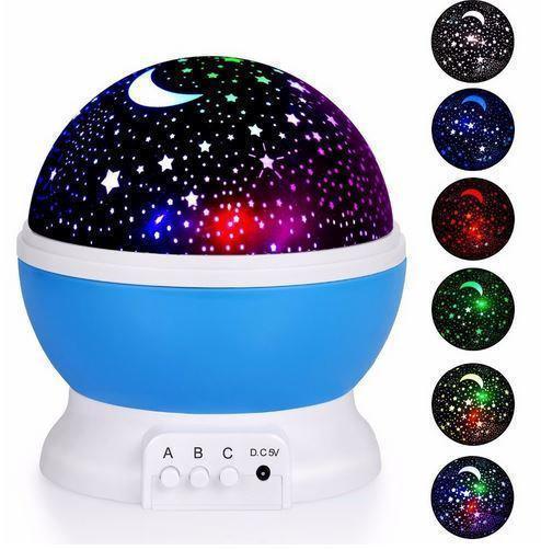 Круглый вращающийся ночник Star Master проектор Звездного неба, ночник стар мастер