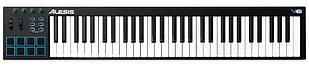 Компактна MIDI клавіатура з багатим функціоналом ALESIS V61