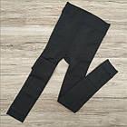 Лосины женские с мехом плотные РОЗА 5080 чёрные 1 шов L-XXL ЛЖЗ-120458, фото 6