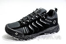 Термо кроссовки в стиле Columbia Waterproof, Black\Gray, фото 3