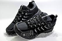 Термо кроссовки в стиле Columbia Waterproof, Black\Gray, фото 2