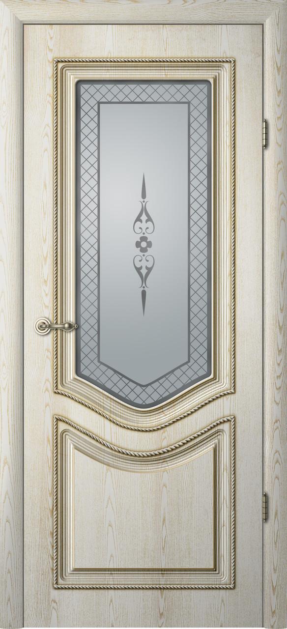 Дверь межкомнатная Albero Рафаэль Art-Vinyl ПО с патиной