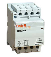Пускатель модульный ПМм 4P 32A 20 кВт 380В Electro