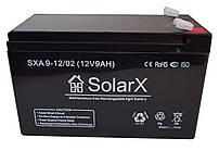 Акумулятор SolarX SXA 9-12 (12V 9Ah)