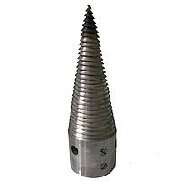 Колун винтовой (диаметр 80+закалка+шпонка)