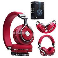 Bluetooth наушники BLUEDIO T3, красные