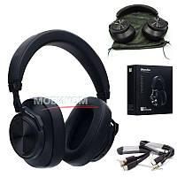 Беспроводные наушники Bluetooth Bluedio T7 Bluetooth Black с микрофоном, черные