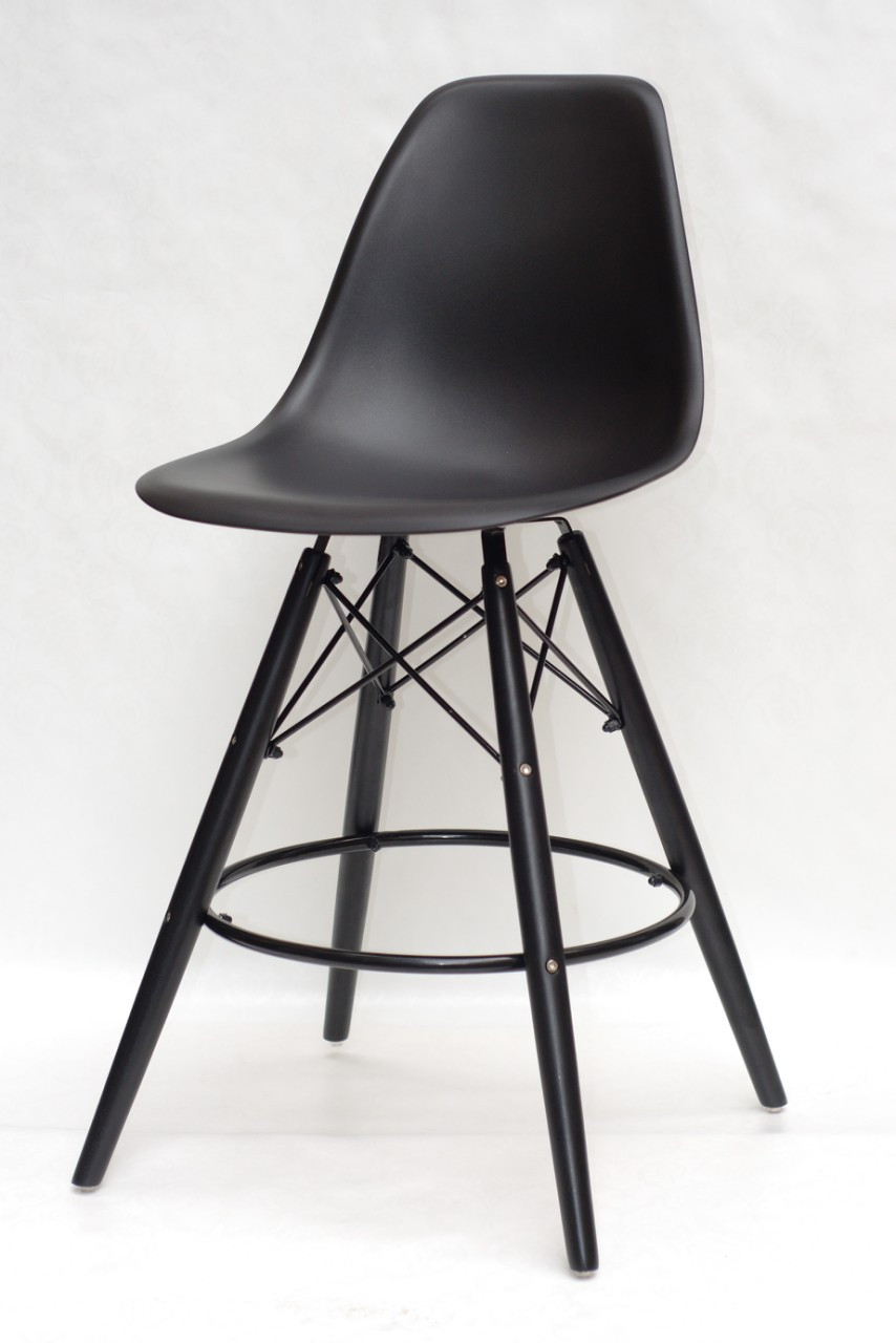 Барный стул Nik BK Eames, антрацит