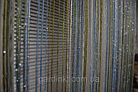 Радуга дождь № 1+11+19  (белый, голубой, оливковый), фото 1