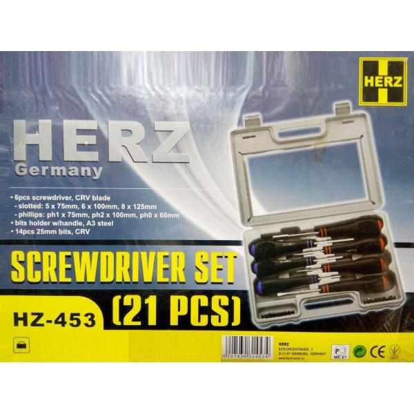 Набор инструментов Herz HZ-453
