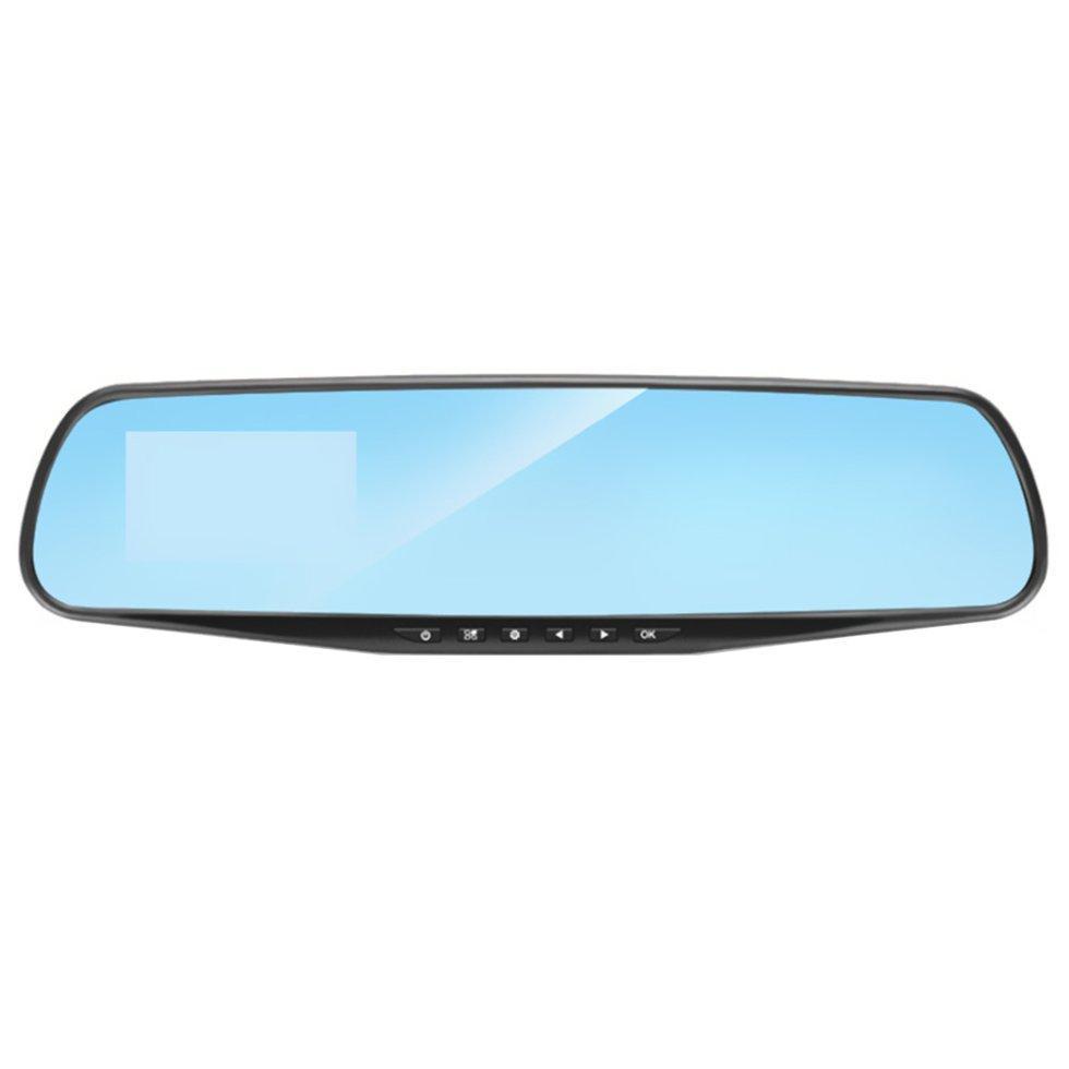 Зеркало видеорегистратор Lesko 2.8 Car H5 Full HD для качественной съемки Черный