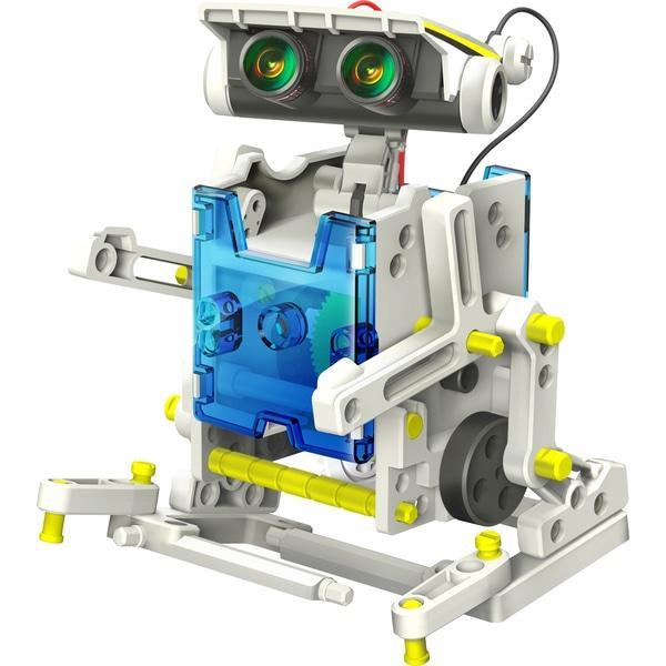 Конструктор Solar Robot на солнечных батареях робот 14 в 1 солар