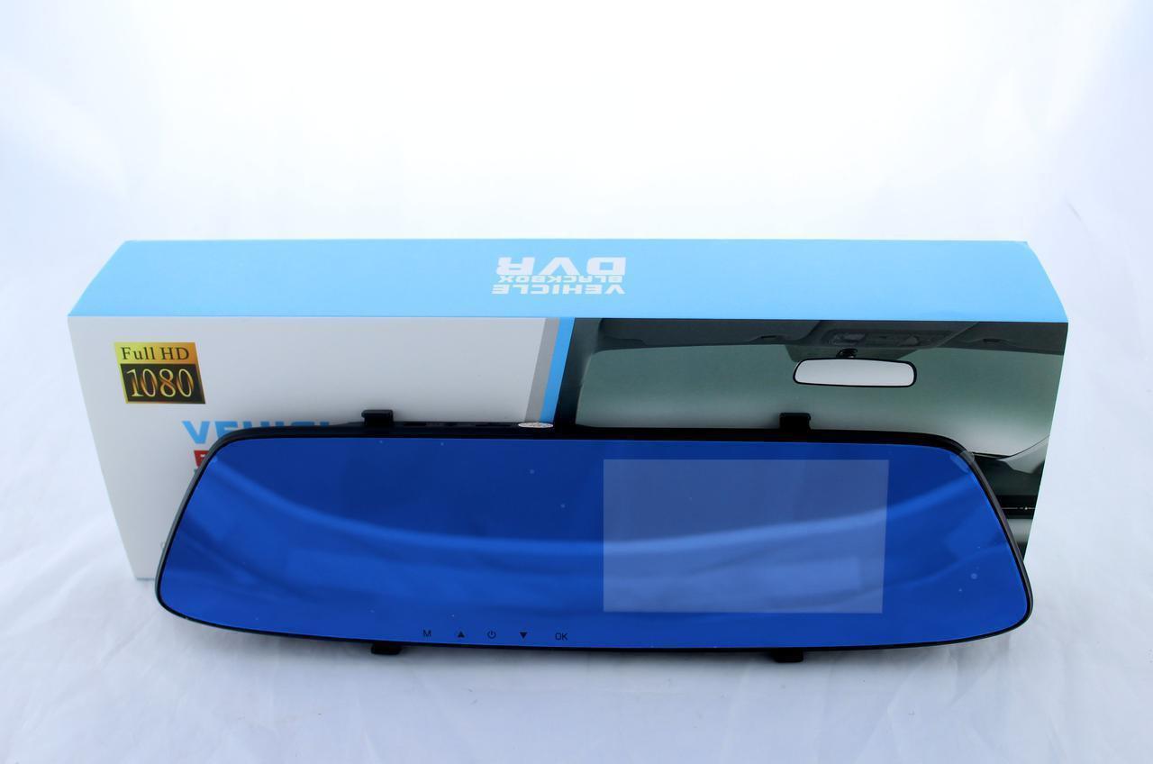Автомобильный видеорегистратор DVR T605 HD на 2 камеры   авторегистратор   регистратор в авто