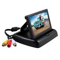 Монитор для камеры заднего вида Terra LCD Color 4.3 дюйма Черный