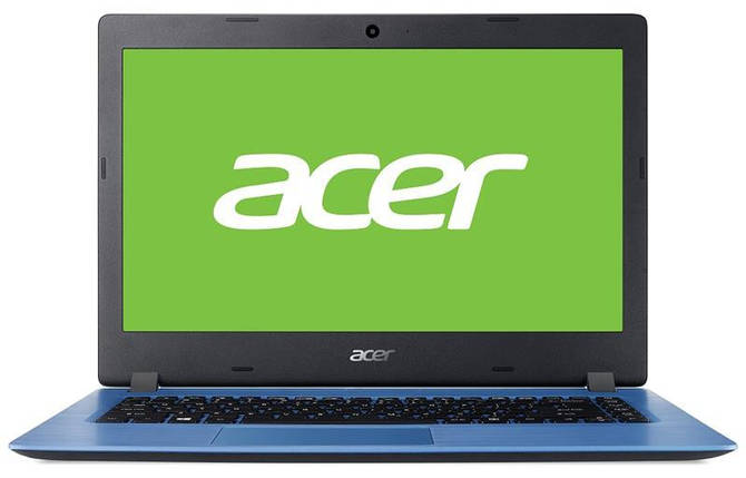 Ноутбук Acer Aspire 1 A114-32 14 AG/Intel Cel N4000/4/64F/int/Lin/Blue, фото 2