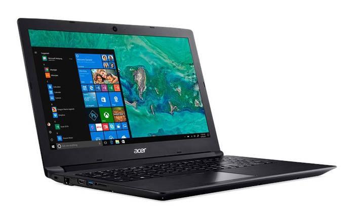 Ноутбук Acer Aspire 3 A315-53 15.6FHD/Intel Pen 4417U/4/128F/int/Lin/Black, фото 2