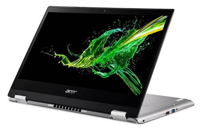 Ноутбук Acer Spin 3 SP314-53N 14FHD Touch/Intel i5-8265U/8/256F/int/W10/Black, фото 2