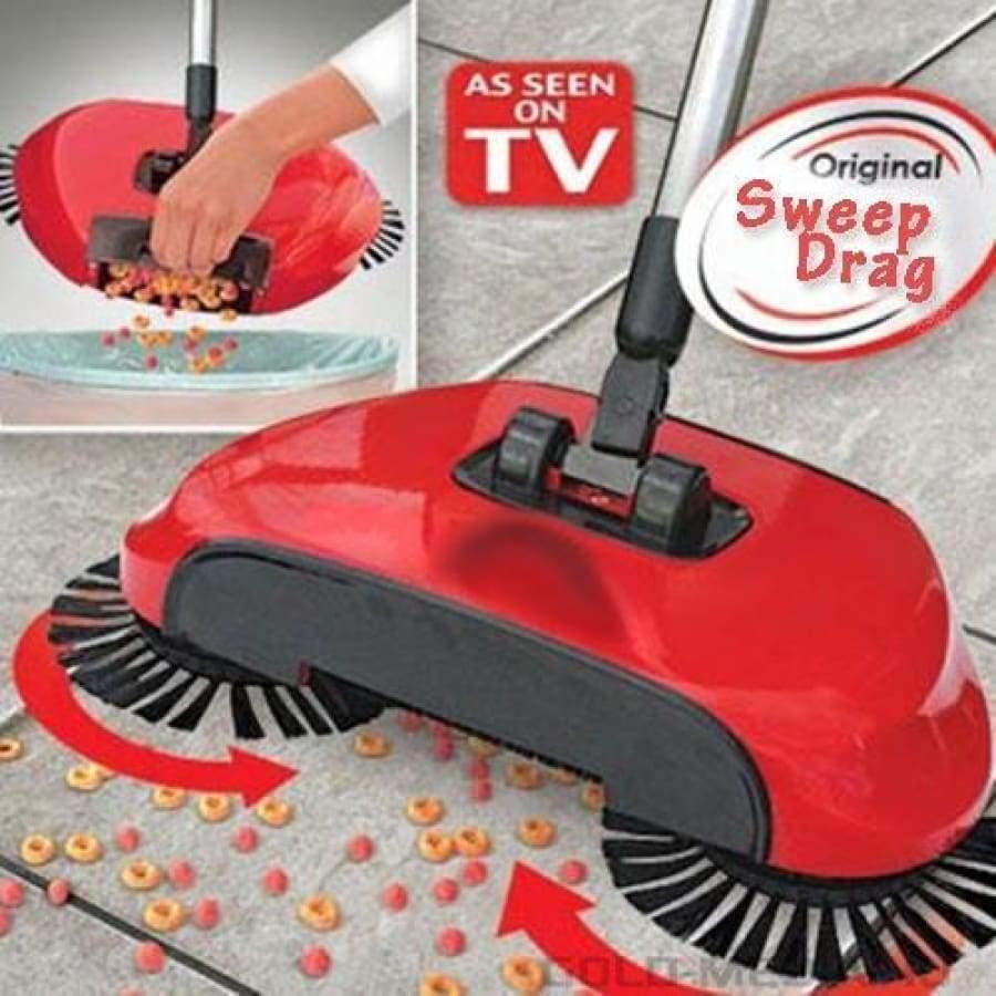 Механічний віник щітка швабра для сухого прибирання підлоги для прибирання