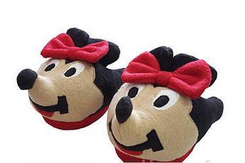 Детские тапочки - игрушки Минни Маус Размер 25 - 45 Символ 2020 года