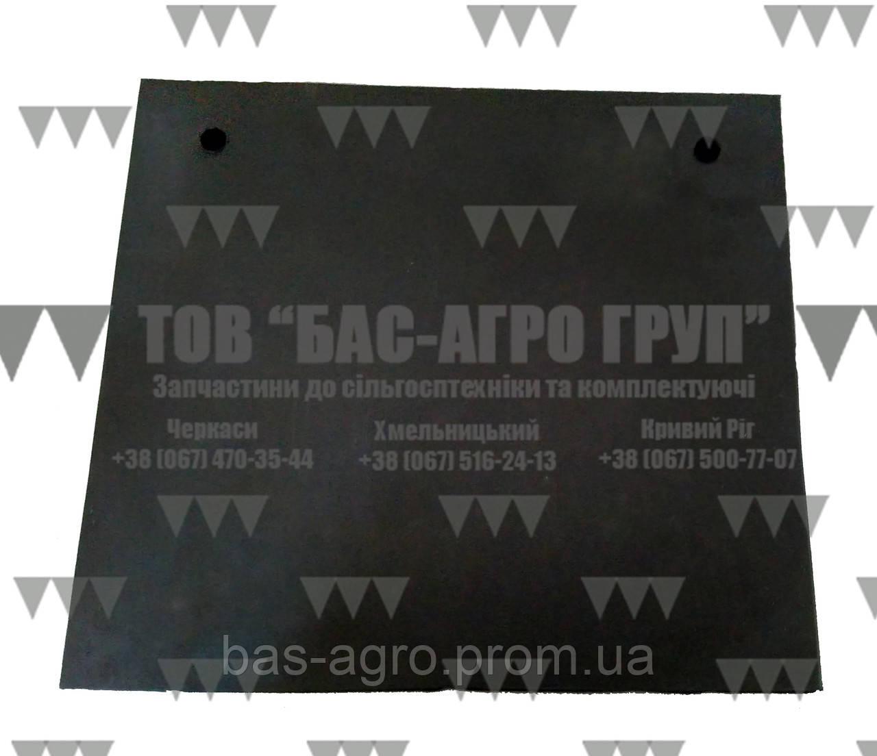 Защитная резиновая пластина ножа фрезы 250мм Geringhoff 511362