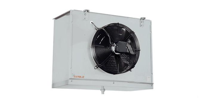 Воздухоохладитель SBE-102-140-GS-LT (повітроохолоджувач)