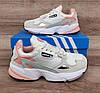 Жіночі кросівки Adidas Falcon W (WHITE TINT / RAW WHITE / TRACE PINK) EE4149, фото 4